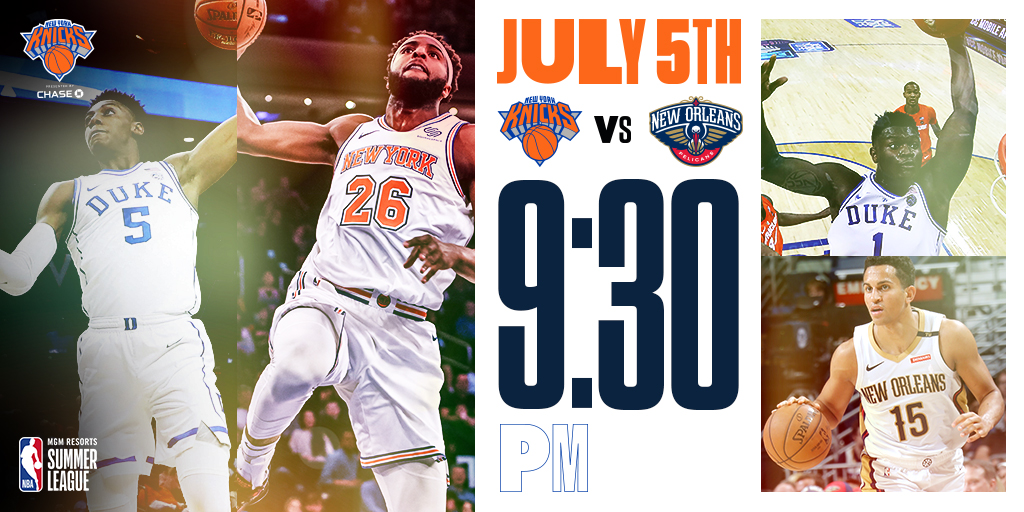 Knicks-Pelicans-Summer-League-2019