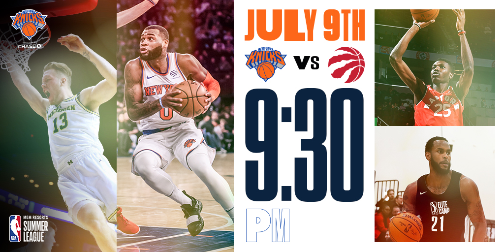 Knicks-Raptors-Summer-League-2019