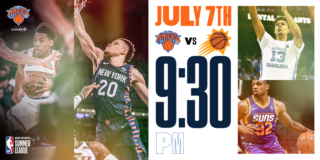 Knicks-Suns-Summer-League-2019