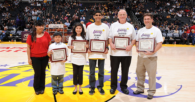 Student & Educator of the month - November 2012