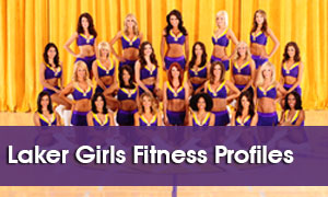 Laker Girls Fitness Profiles