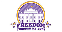 Freedom Through My Eyes button