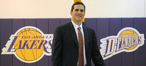 Mark Madsen Introduced as LA D-Fenders Head Coach