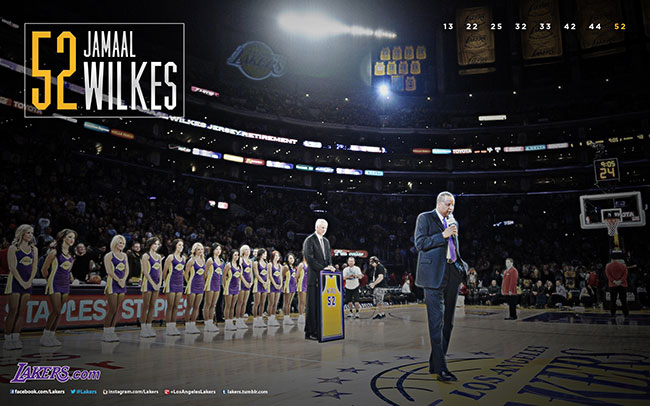 Jamaal Wilkes Desktop Wallpaper