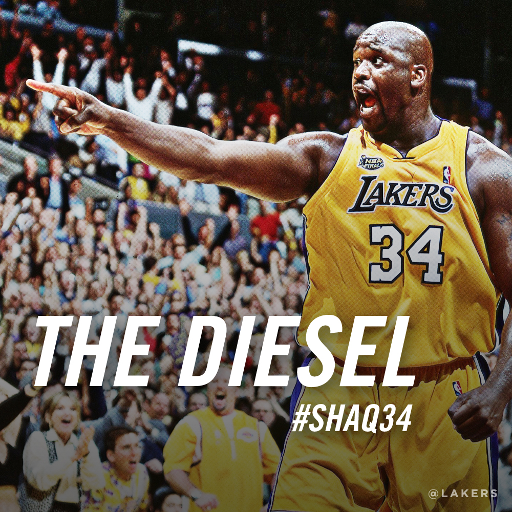 Shaquille O'Neal - Graphics | Los Angeles Lakers