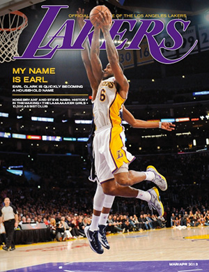 2012-13 Lakers Magazine Issue #3