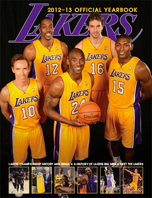 2012-13 Lakers Official Yearbook