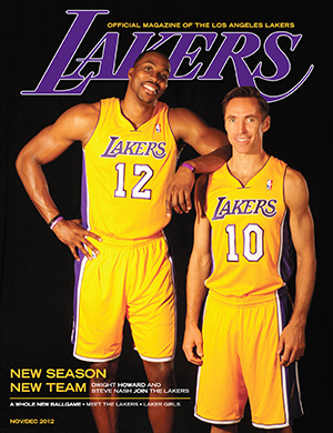 2012-13 Lakers Magazine Issue #1