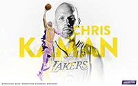 Player Wallpaper - Chris Kaman