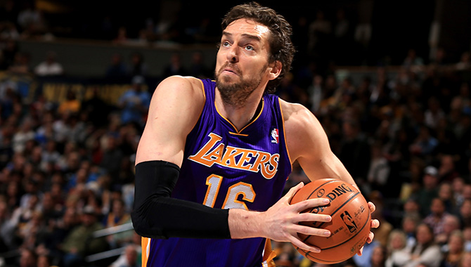 Pau Gasol Injury Update