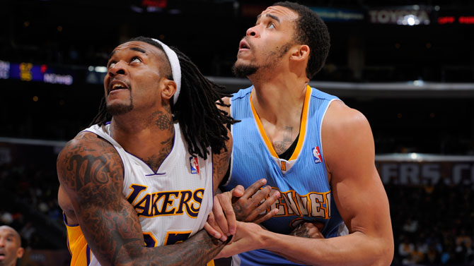 Jordan Hill underwent surgery on his left hip