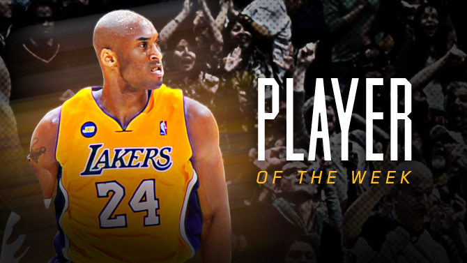 Kobe Bryant Player of the Week