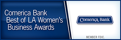 Comerica Bank Best of LA Women's Business Awards