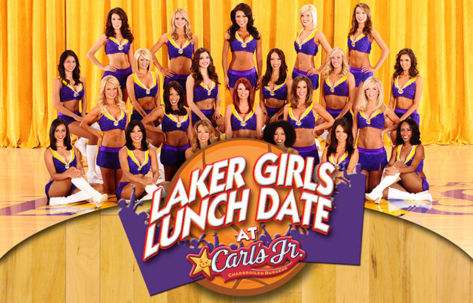 Laker Girls Lunch Banner