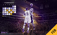 2012-13 Lakers Schedule - February