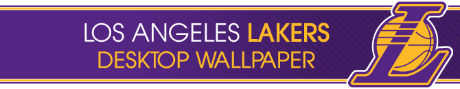 Los Angeles Lakers Desktop wallpapers header