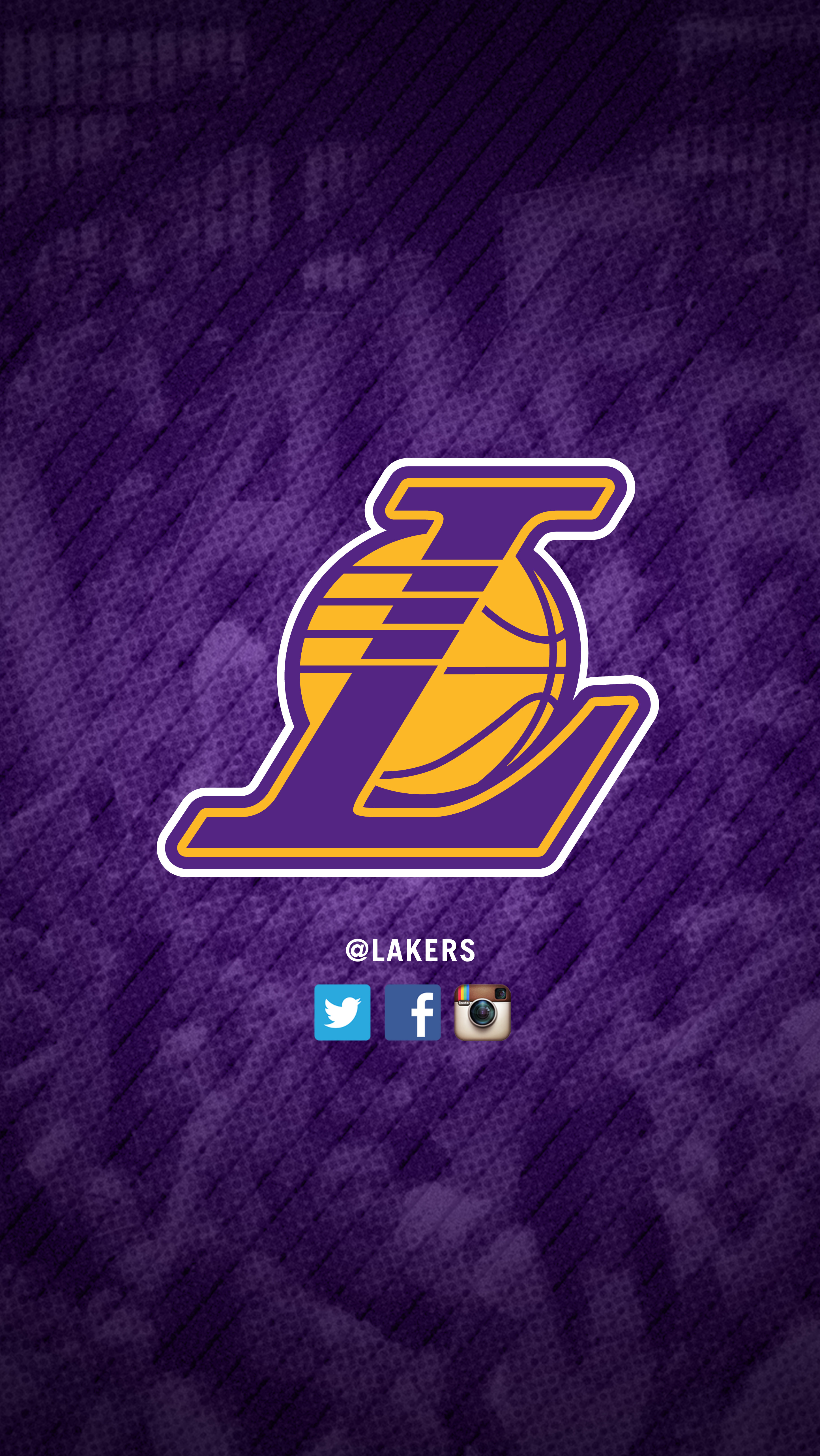 Lakers mobile wallpapers los angeles lakers get purple version 2 wallpaper voltagebd Image collections