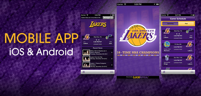 Lakers Mobile App