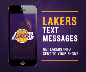Get Lakers Text Messages