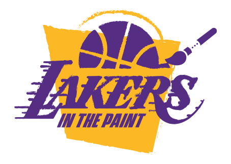 Lakers In the Paint Purple