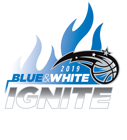 Blue and White Ignite playoffs presented by AdventHealth