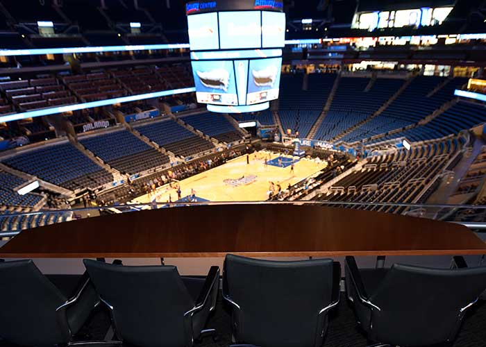 Legends Suites Seating Chart - Amway Center