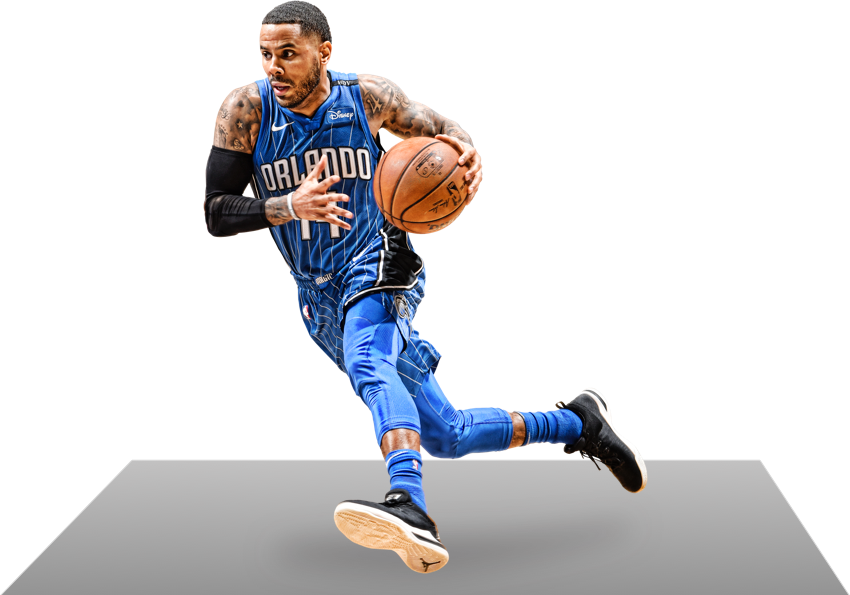 D.J. Augustin in action