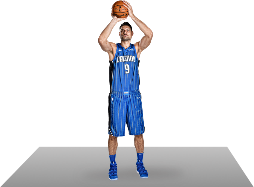Nikola Vucevic in action