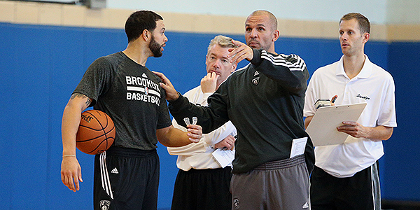 Nets at Practice