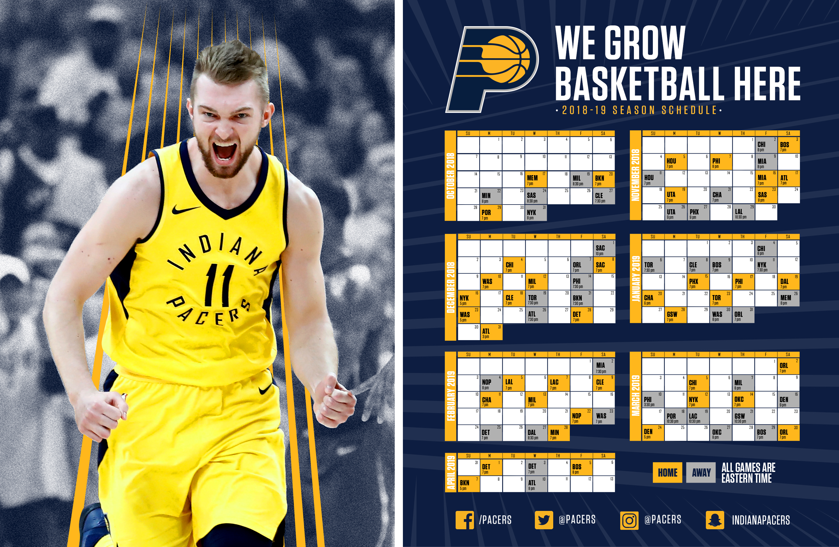 a01ea6507 Indiana Pacers Schedule