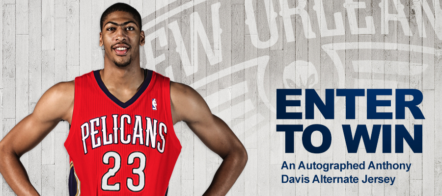Pelicans Alternate Jersey Sweepstakes | New Orleans Pelicans