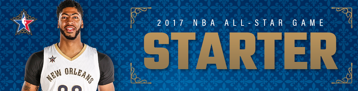 Anthony Davis Named All-Star Starter