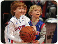 Future Pistons Ball Kids