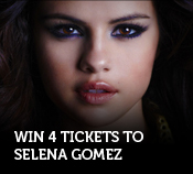 Selena Gomez Enter to Win