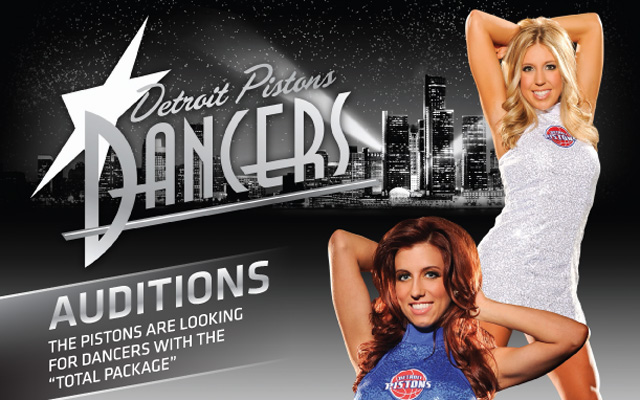Pistons Dancers Auditions