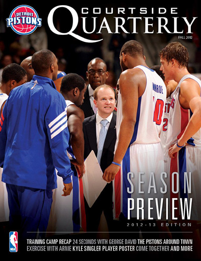 Complimentary Courtside Quarterly subscription