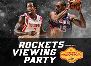 Rockets vs. Hawks Viewing Party