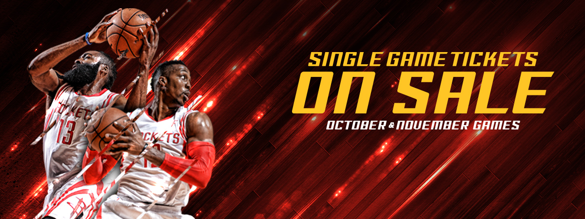 Single Game Tickets On Sale Now