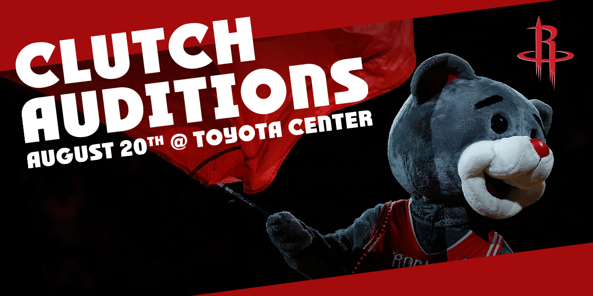 Clutch Open Auditions | Houston Rockets