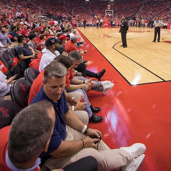 Courtside Seating