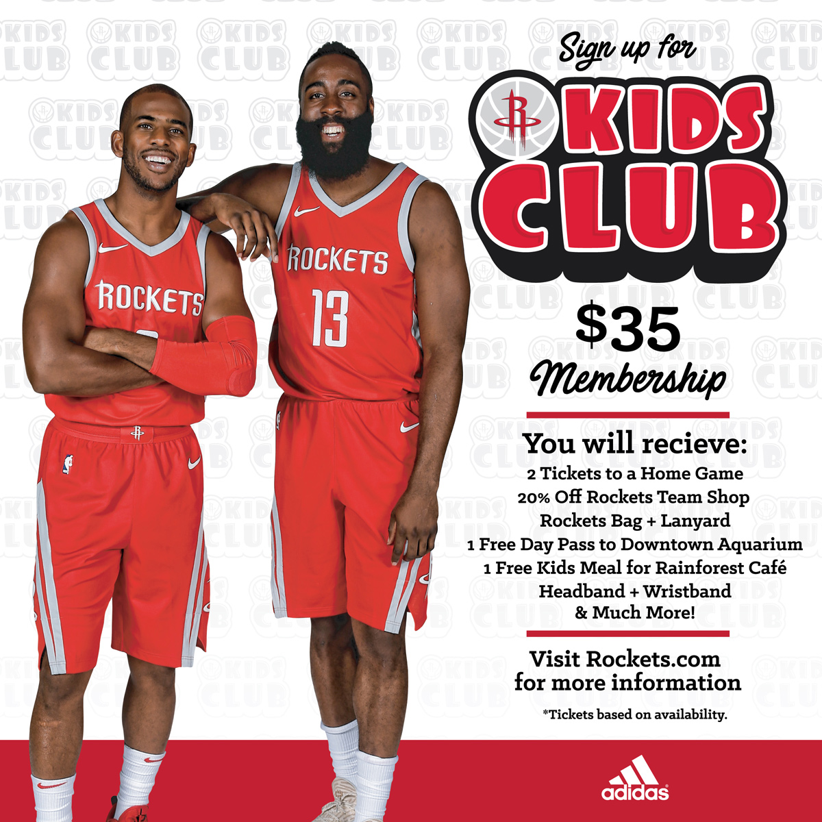 Rockets Kids Club