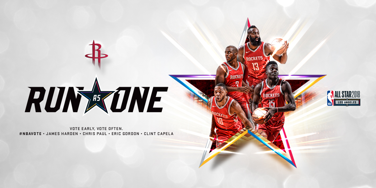 2018 NBA All-Star Voting | Houston Rockets