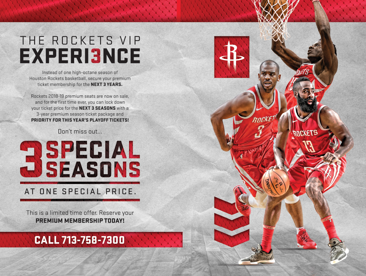 Call for Rockets VIP Experience