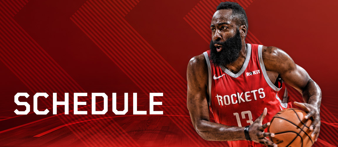 Rocket Calendar December 2019 Houston Rockets Schedule