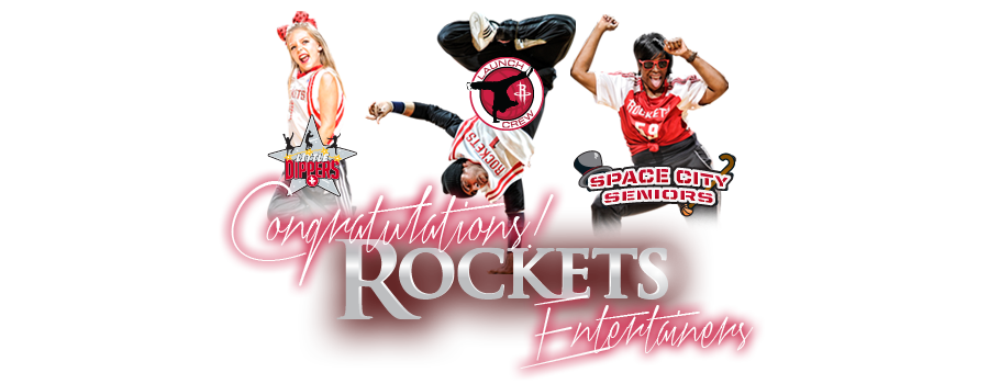 Congratulations Rockets Entertainers