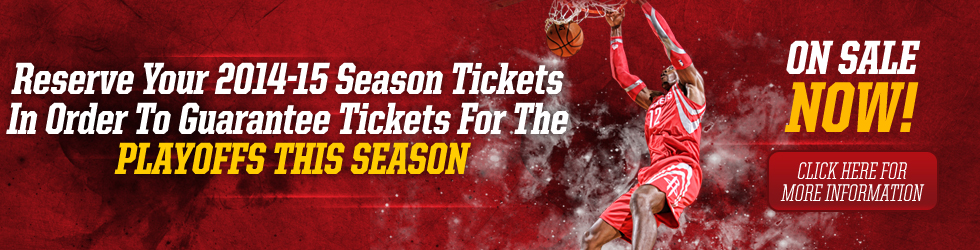 2014-15 Season Tickets