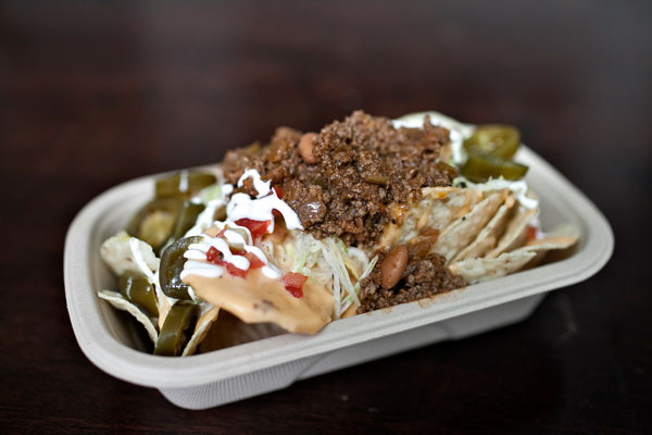 these are the el grande nachos which like all the nacho offerings look ...