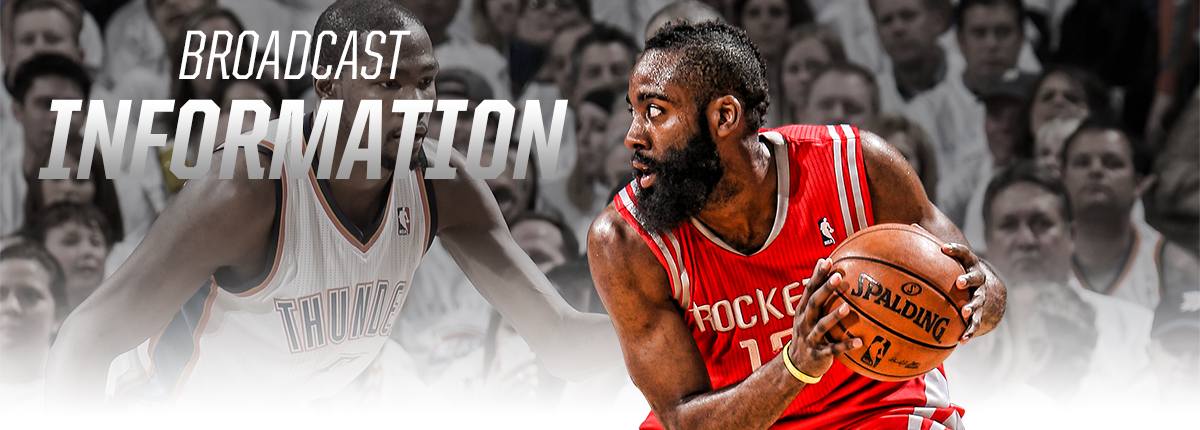 Rockets Broadcast Information