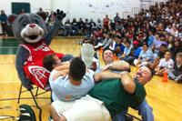 Bridge City Middle School Mascot WOS Skit - YouTube