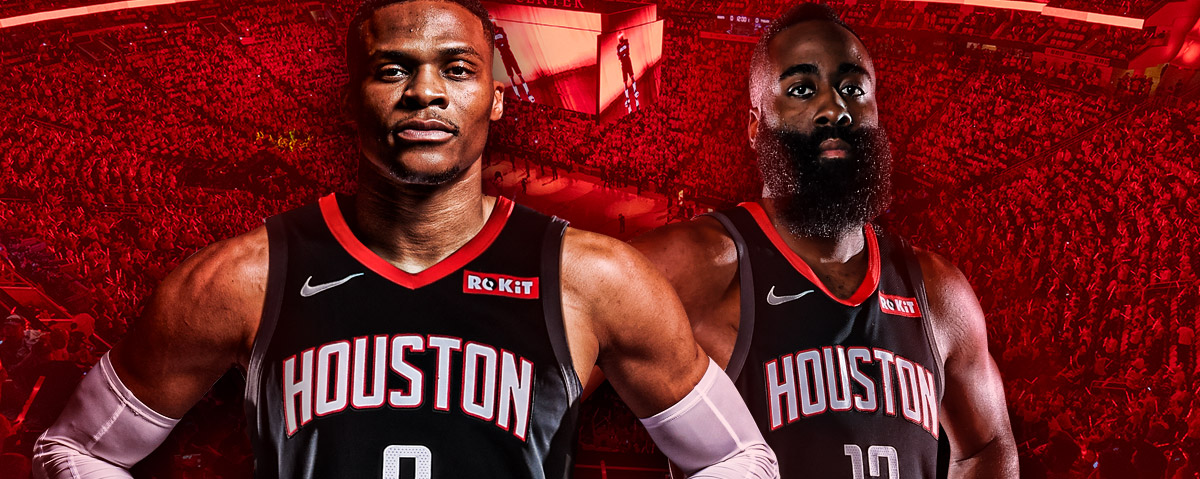 Official Jersey Partner of the Houston Rockets